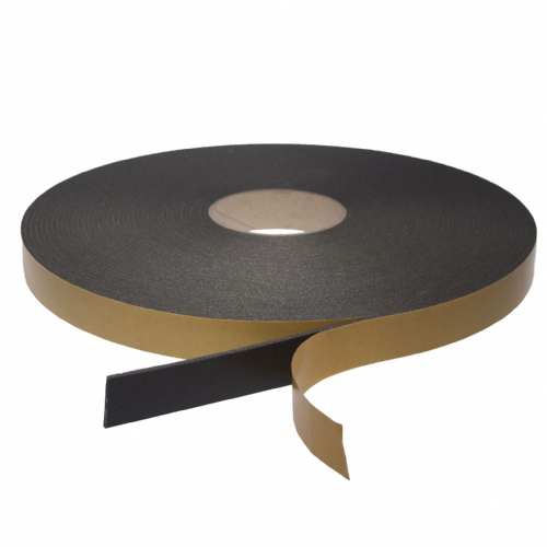 66117 Black Double Sided Foam Tape